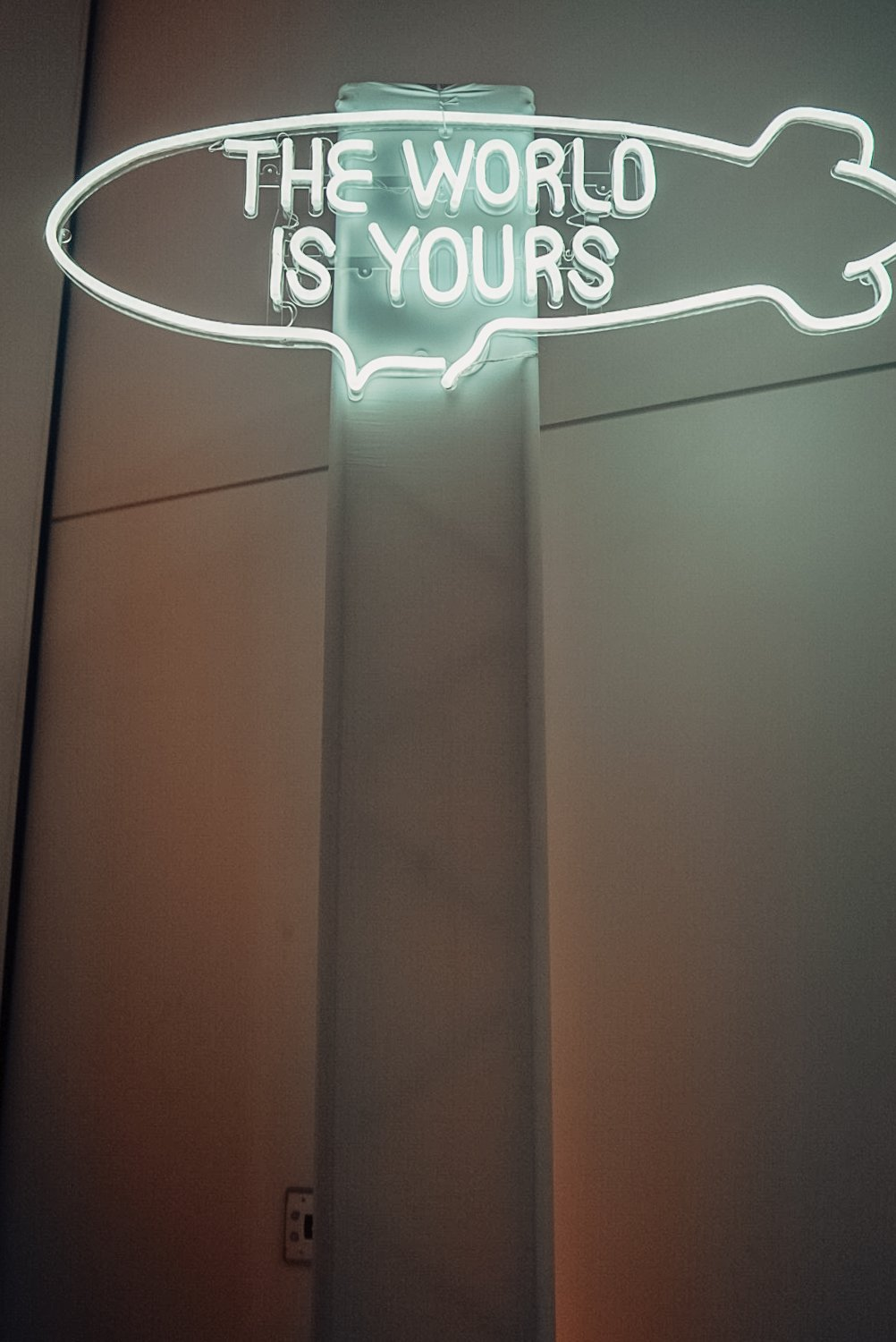 blame custom neon sign scarface faena wedding in miami beach