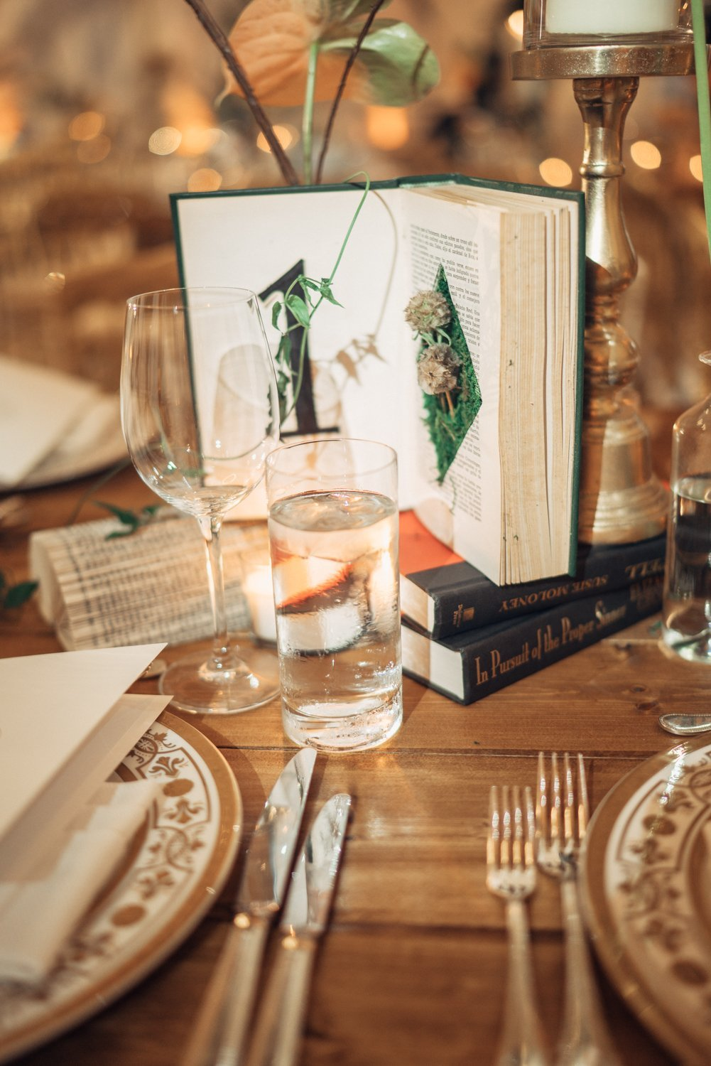 Book table numbers with moss at faena miami beach wedding