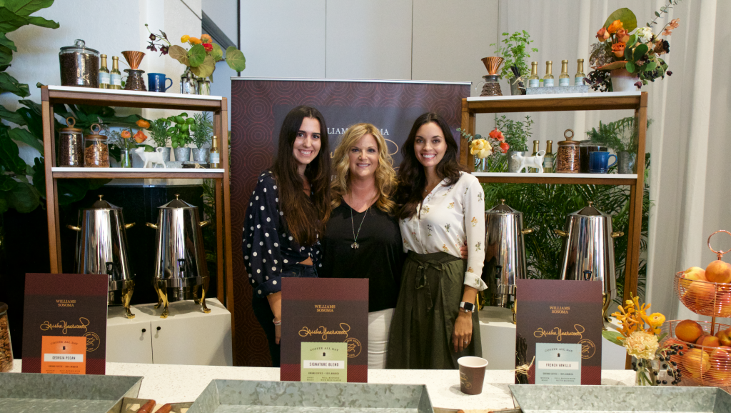 Joamna Ramirez, Trisha Yearwood, and Joan Love. Celebrity Event Planners at The South Beach Food and Wine Festival at the Lowes Hotel