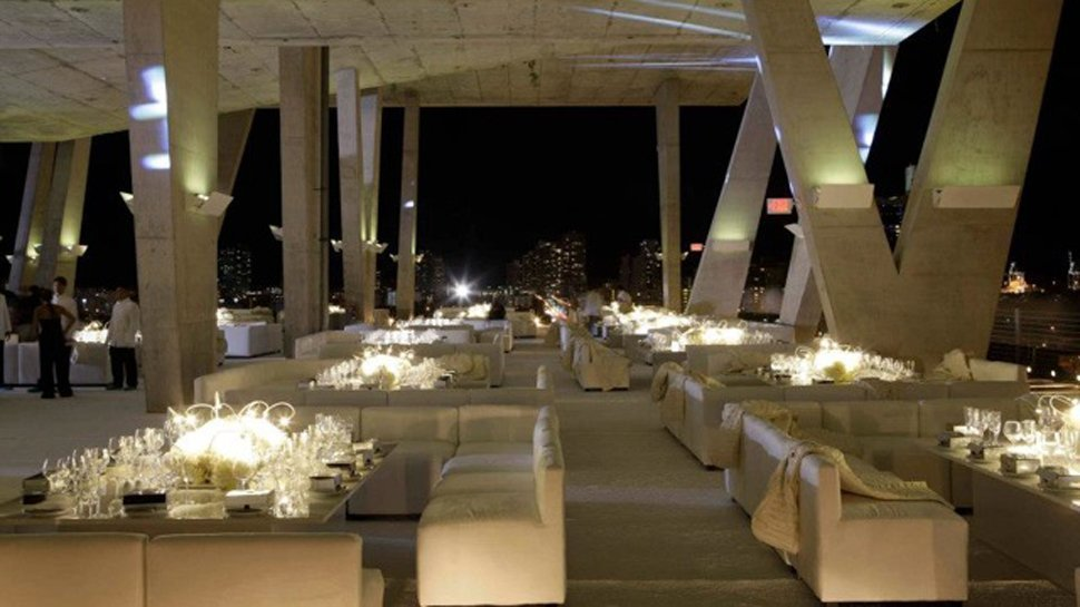 The 1111 Lincoln Road outdoor venue in Miami is modern and gorgeous.