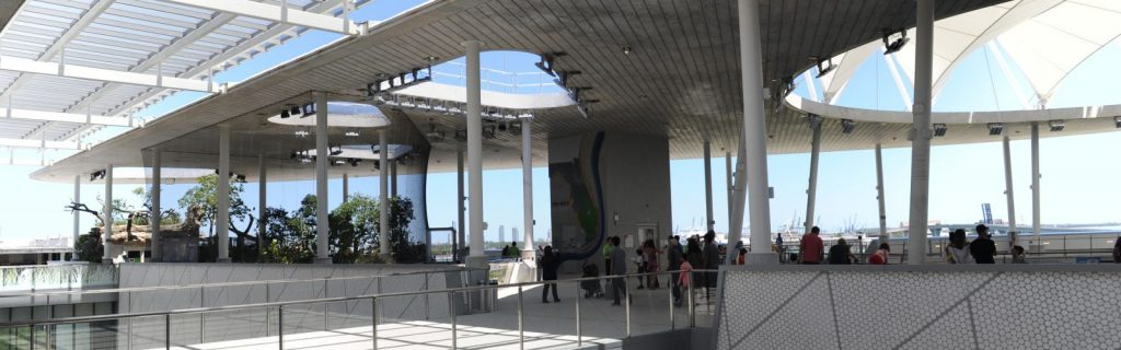 The Frost Science Museum's rooftop terrace is a great outdoor venue that allows for socially distant tables.